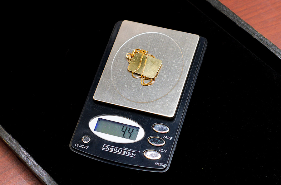 jewelry scale - weighing your gold